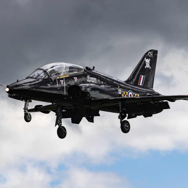 """The BAE Systems Hawk"" stock image"