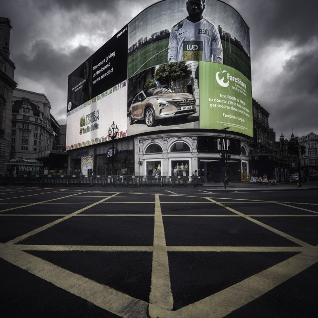 """""""Piccadilly Circus, London"""" stock image"""