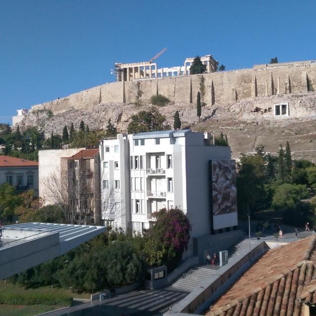 """""""Acropolis, Athens"""" stock image"""