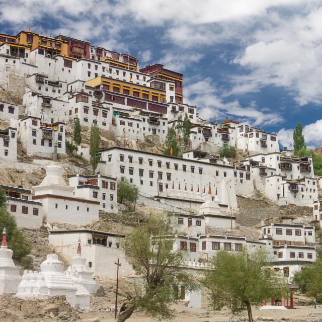 """""""Thikse Monastery, Ladakh"""" stock image"""