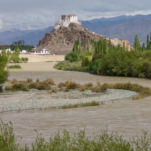 """Stakna Monastery, Ladakh"" stock image"