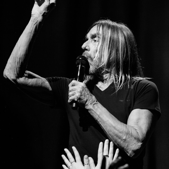 """My World - Iggy Pop At THe Barbican 2019"" stock image"