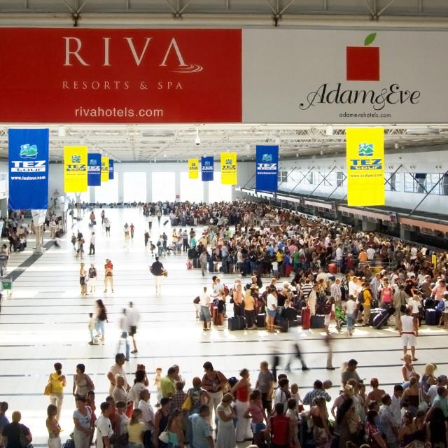 """Antalya International Airport"" stock image"
