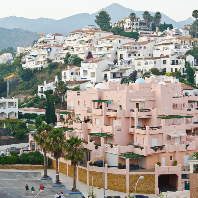 """Nerja, Spain"" stock image"