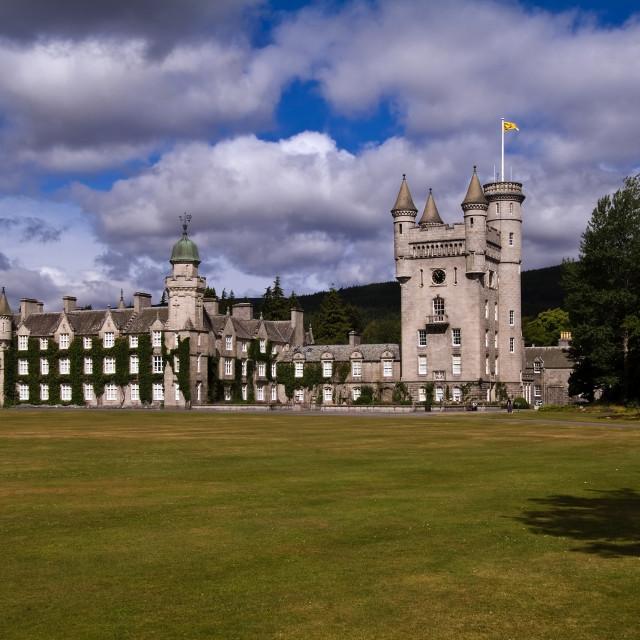 """Balmoral Castle Scotland"" stock image"