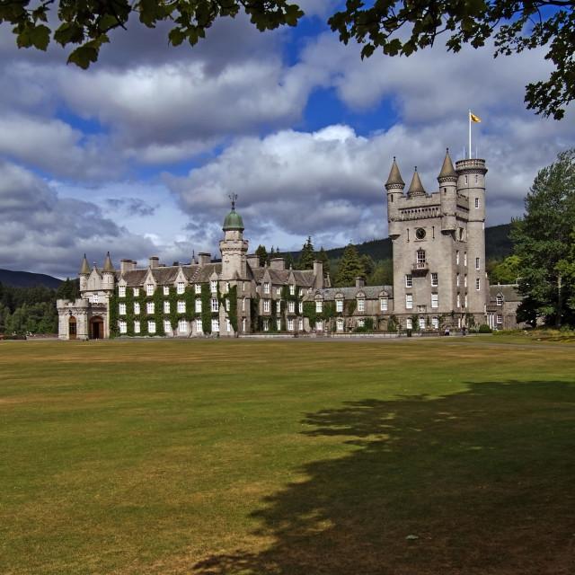 """Balmoral Castle Deeside"" stock image"