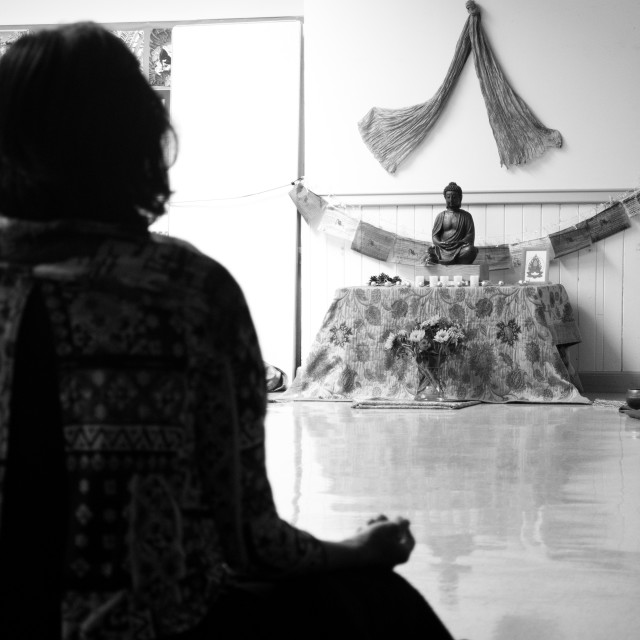 """Meditation"" stock image"