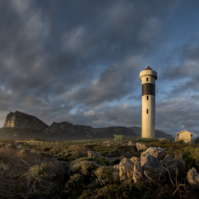 """Hangklip Lighthouse"" stock image"