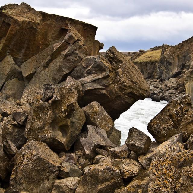 """Volcanic Geology"" stock image"