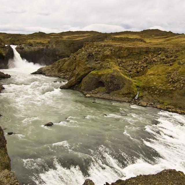 """""""Aldeyjarfoss, Iceland"""" stock image"""