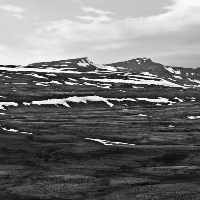 """""""Icelandic rural landscape"""" stock image"""