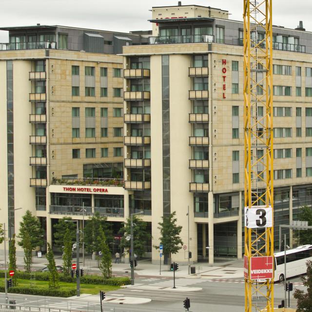 """Thon Hotel Opera, Oslo, Norway"" stock image"