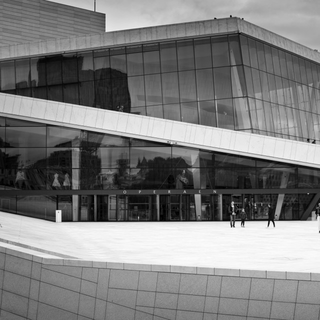 """Opera House, Oslo, Norway"" stock image"