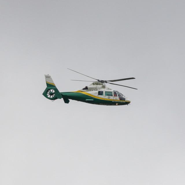 """Air Ambulance"" stock image"
