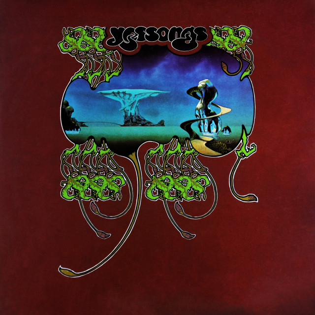 """""""Yes: triple LP front cover: 'Yessongs'"""" stock image"""