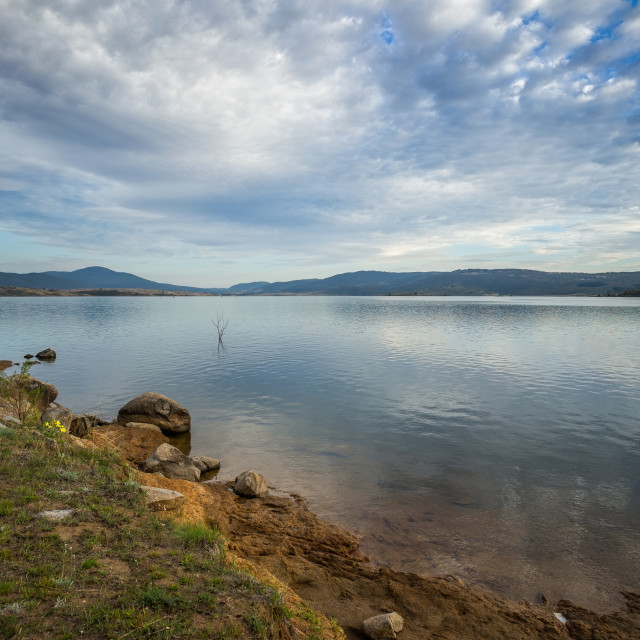 """Jindabyne Lake"" stock image"