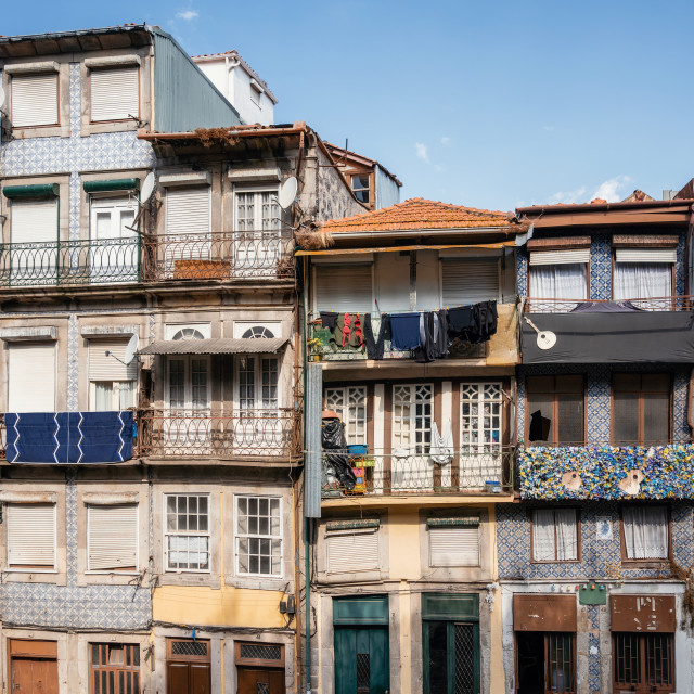 """Traditional Portuguese house"" stock image"