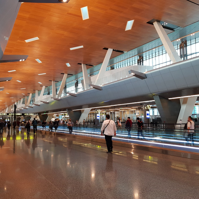 """Hamad International Airport"" stock image"
