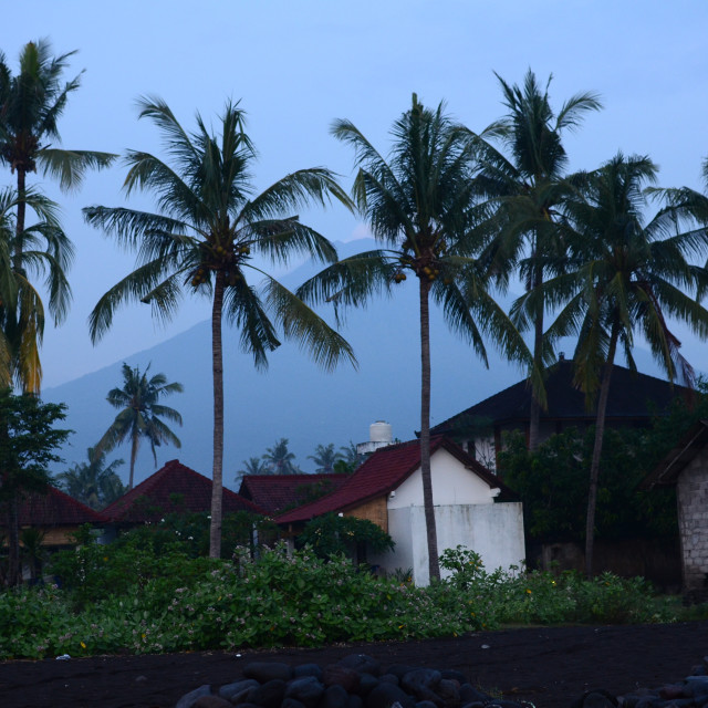 """Amed, Bali"" stock image"