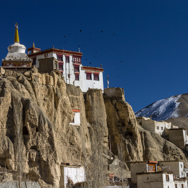 """Lamayuru Gompa, Ladakh"" stock image"