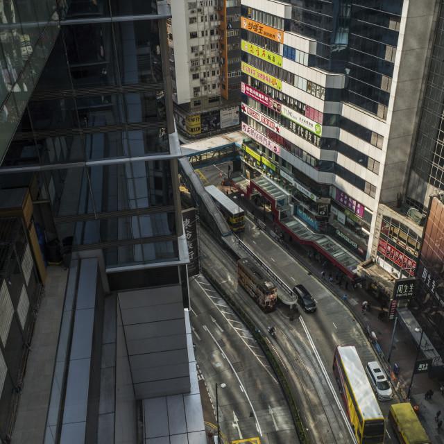 """Causeway Bay, Hong Kong Island"" stock image"