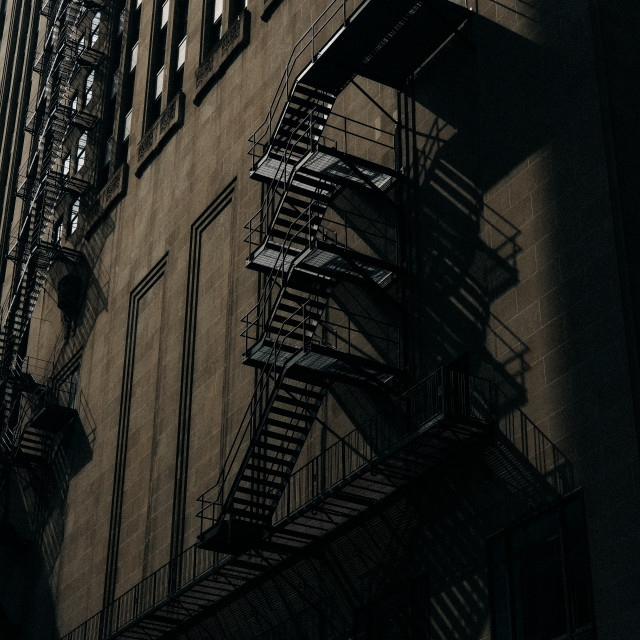"""Chicago Noir"" stock image"