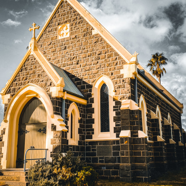 """""""Old Church"""" stock image"""
