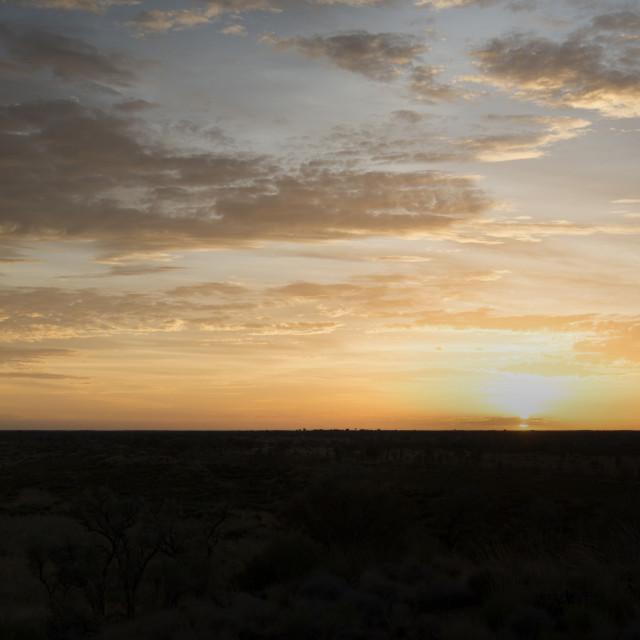 """Uluru Sunrise"" stock image"