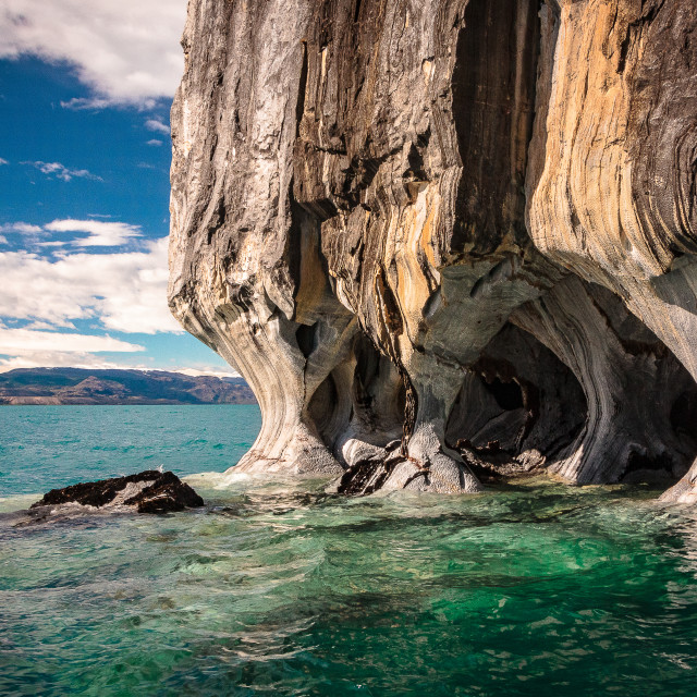 """""""Marble caves 1"""" stock image"""