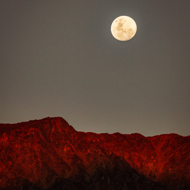 """""""Red mountain"""" stock image"""