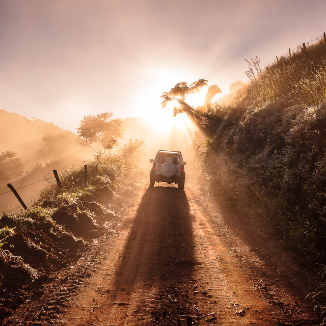 """""""Hit the road"""" stock image"""