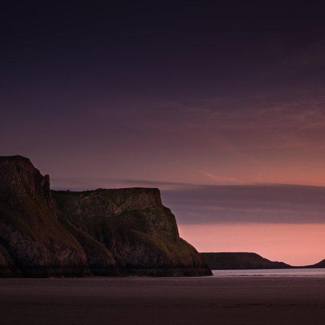 """Worms Head, Rhossili."" stock image"