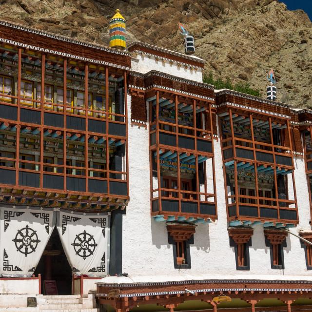 """Hemis Monastery, Ladakh"" stock image"