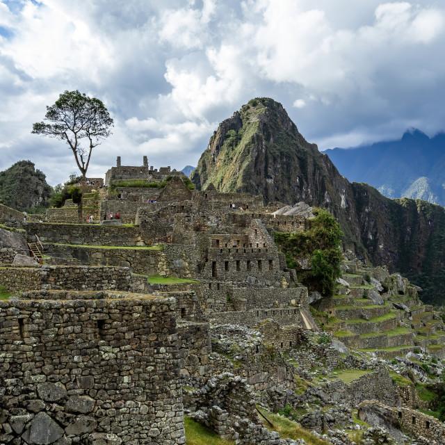 """""""Machu Picchu, Peru"""" stock image"""
