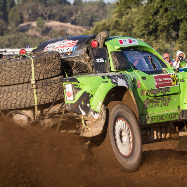 """A Volkswagen Off-Road during the Baja TT Portalegre 500 2019"" stock image"