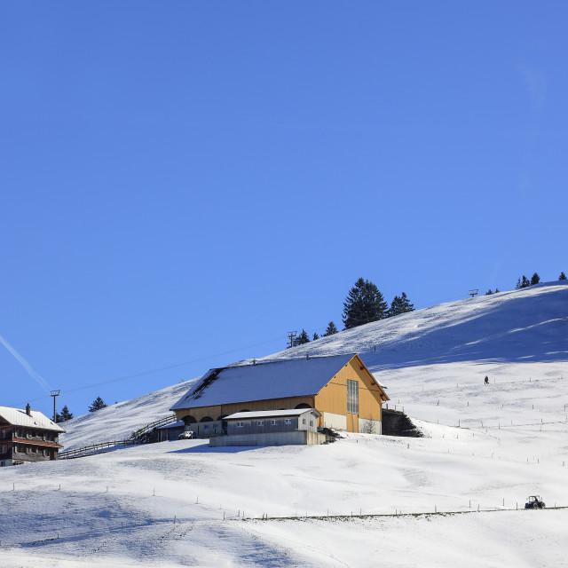 """""""Einsiedeln, Switzerland"""" stock image"""