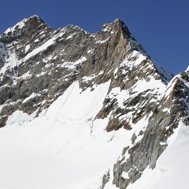 """Jungfrau Mountain Summit, Switzerland"" stock image"