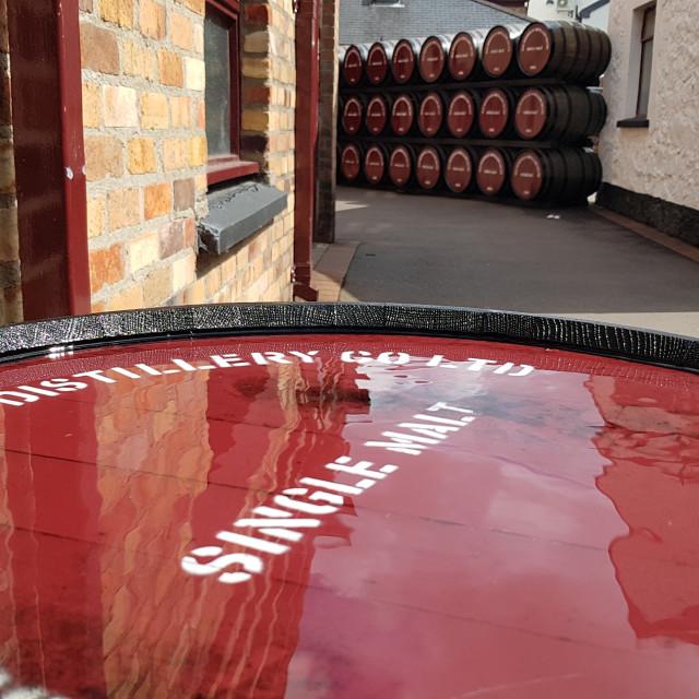 """Bushmills Distillery, Northern Ireland"" stock image"
