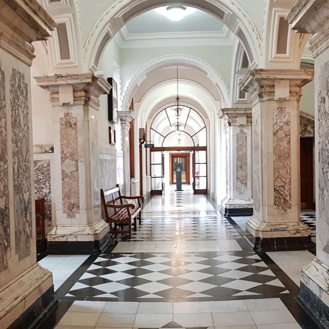 """Belfast City Hall Interior"" stock image"