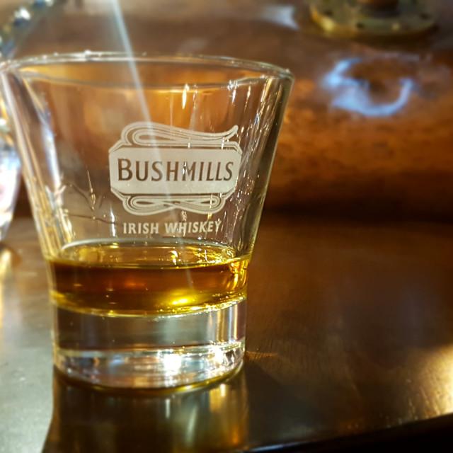 """Bushmills Whiskey"" stock image"