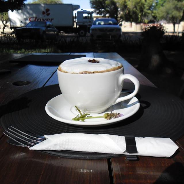 """""""Coffee in kakamas"""" stock image"""