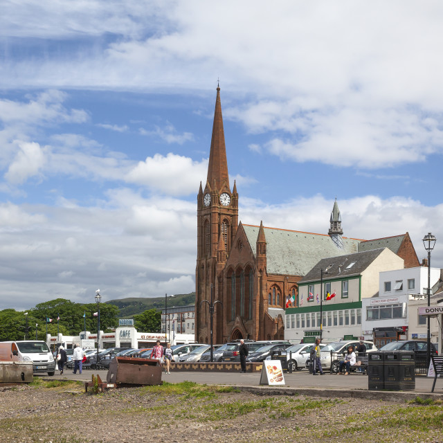 """Largs, Scotland"" stock image"