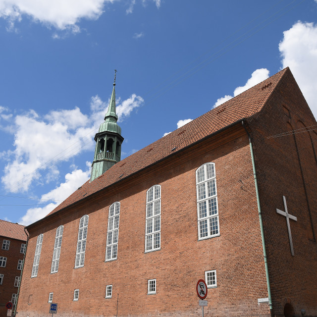 """One of the luther church in Copenhgen Denmark."" stock image"