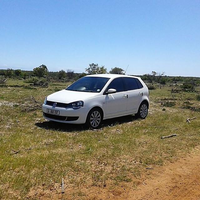 """VW Polo"" stock image"