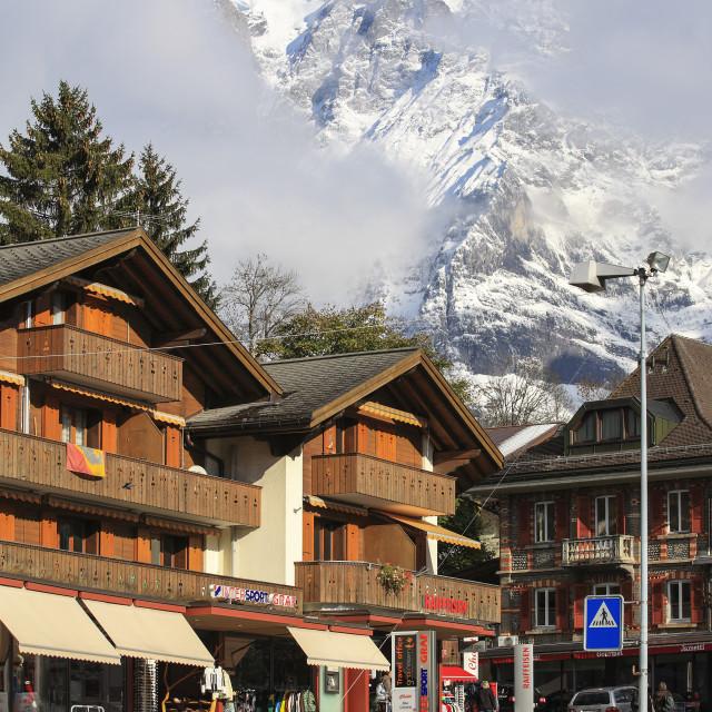 """""""Grindelwald, Switzerland"""" stock image"""