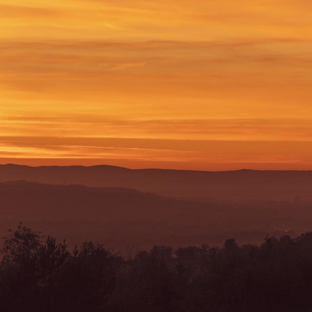 """Majestic Sunset"" stock image"
