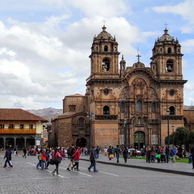 """""""Cusco city centre, Peru"""" stock image"""
