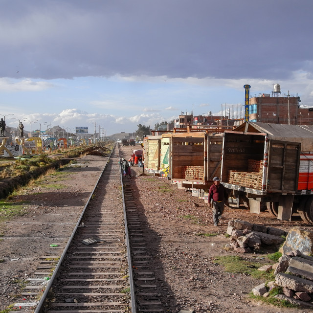 """Juliaca, Peru"" stock image"