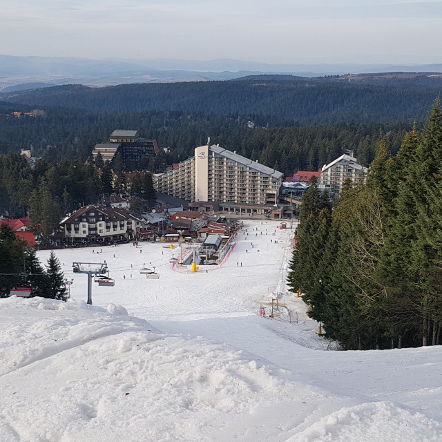 """Borovets Ski Resort, Bulgaria"" stock image"