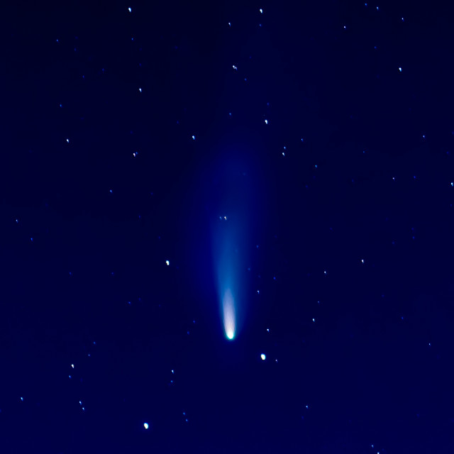 """""""Neowise Comet"""" stock image"""